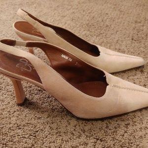 Donald Pliner slingback heels